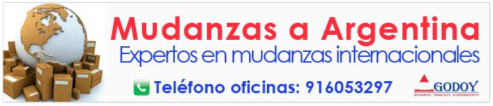 Empresas de mudanzas a Argentina