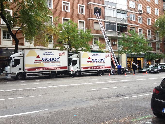 Empresas de mudanzas en Madrid