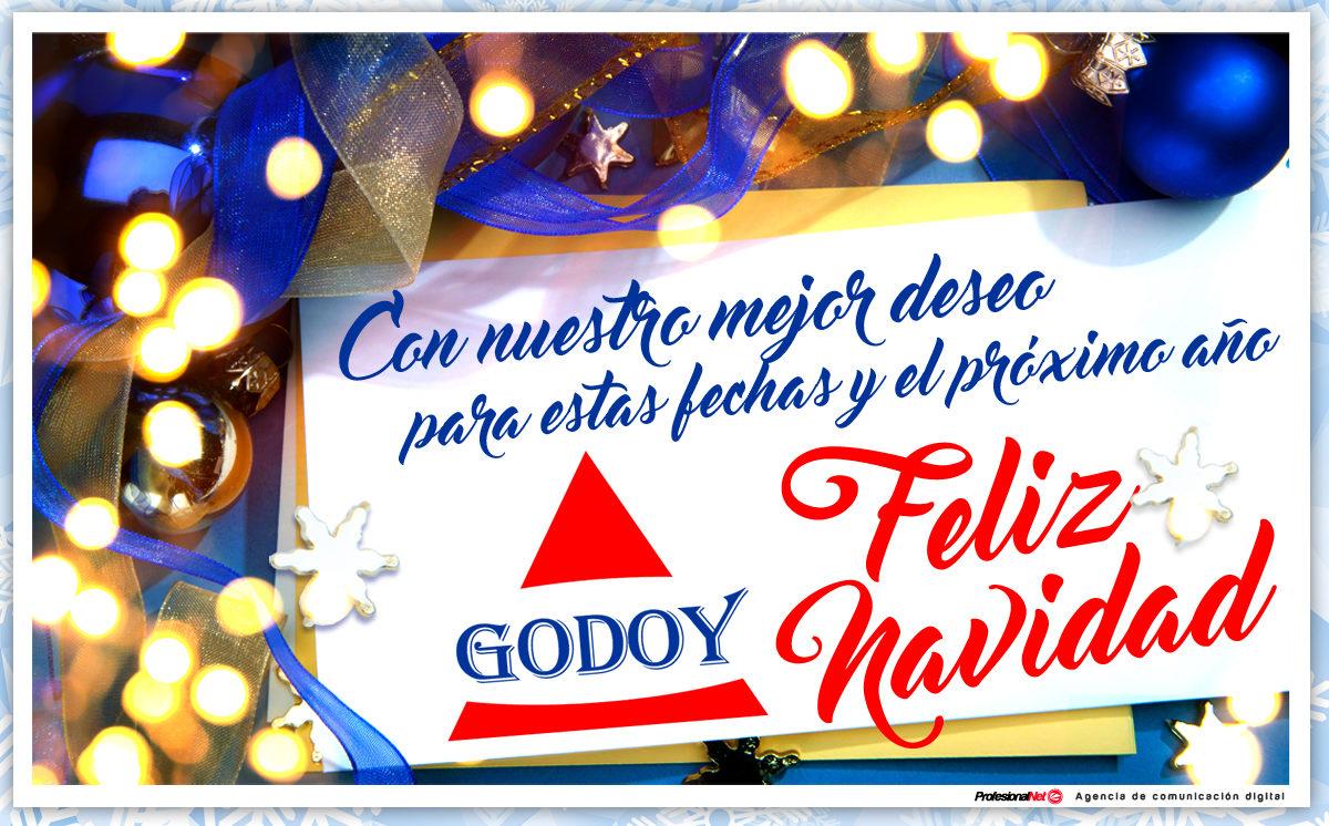 Mudanzas Godoy os desea una Feliz Navidad y un mejor Año Nuevo