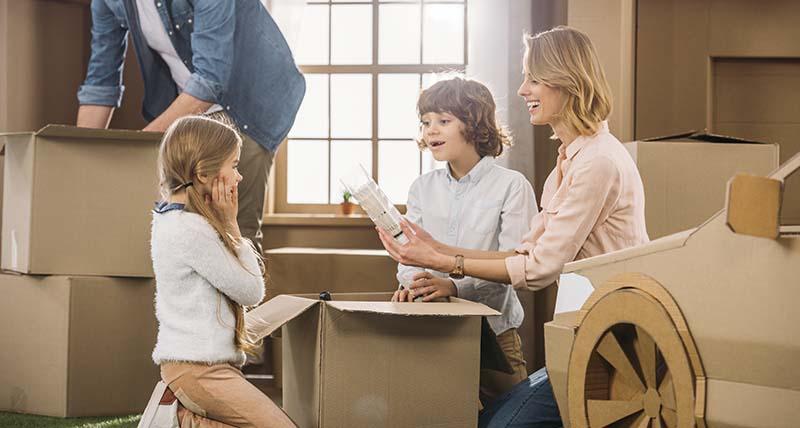 consejos mudanza con niños