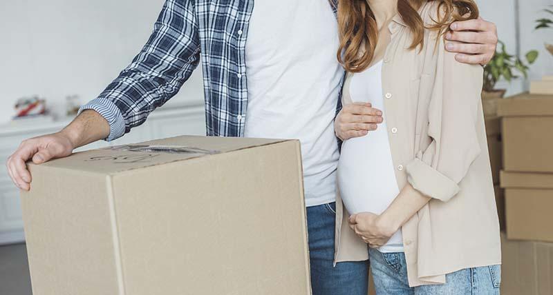 consejos mudanza embarazada